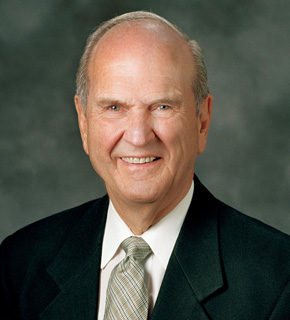 Elder Russell M. Nelson, Quorum of the Twelve Apostles.